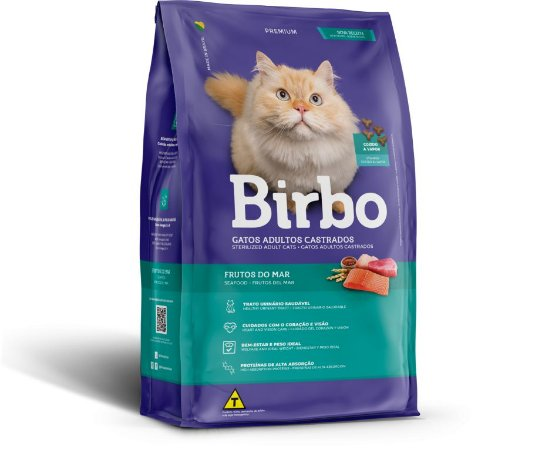 Ração para gatos - Birbo premium castrados