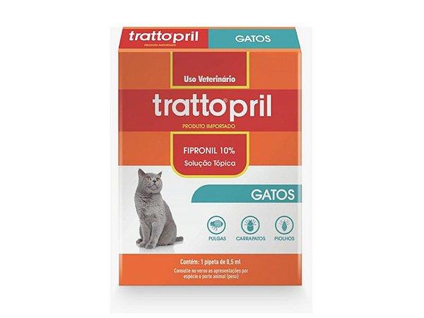 Trattopril gatos - Pipeta antipulgas para gatos
