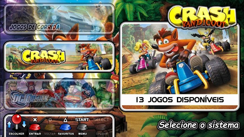 Vídeo Game - Retro Gamer Box 10.292 Jogos + 2 Controles Usb