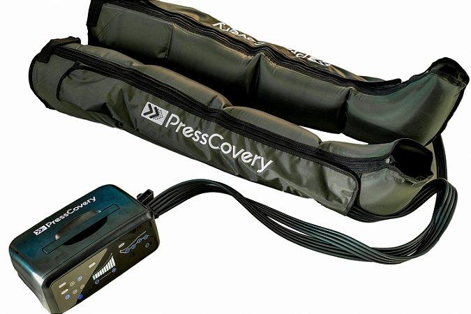 kit Completo - Bota PressCovery com compressor e mochila
