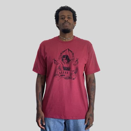 Camiseta Bleed Tequila Sunrise Vinho