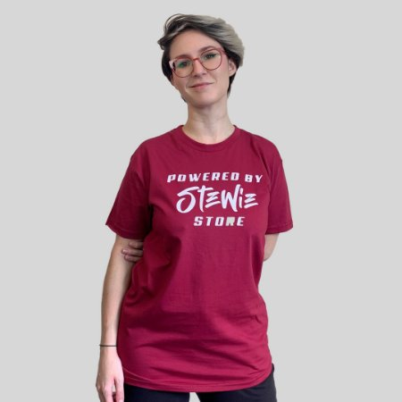 Camiseta Stewie Store Vinho
