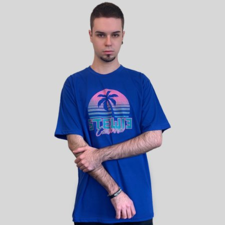 Camiseta Stewie California Azul