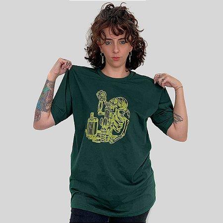 Camiseta Bleed Gardening Musgo