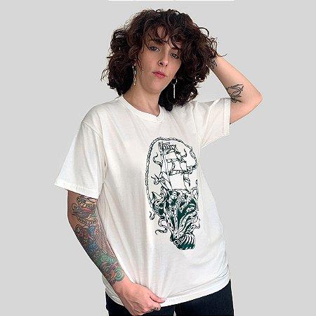 Camiseta Bleed Deepen Off White