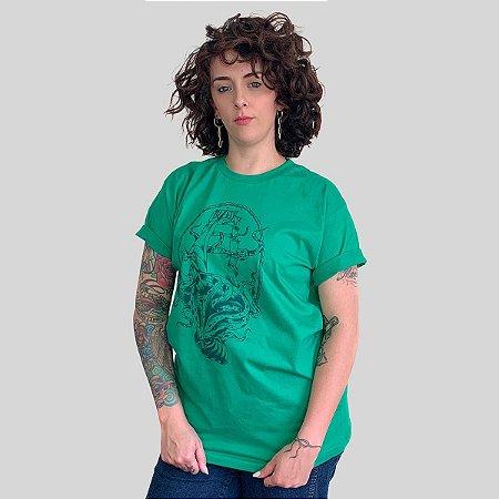 Camiseta Bleed Deepen Verde Bandeira