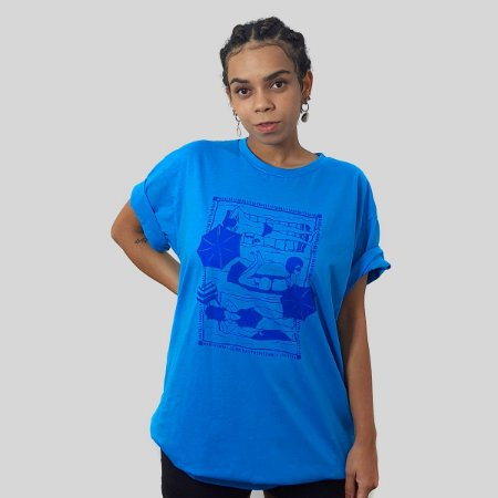 Camiseta Quimera Beira Mar Turquesa