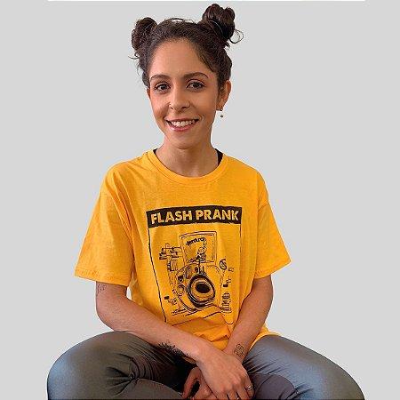 Camiseta Ventura Flash Prank Amarelo