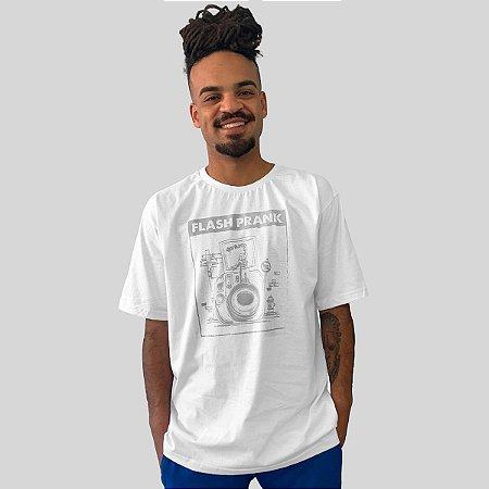 Camiseta Ventura Flash Prank Branco