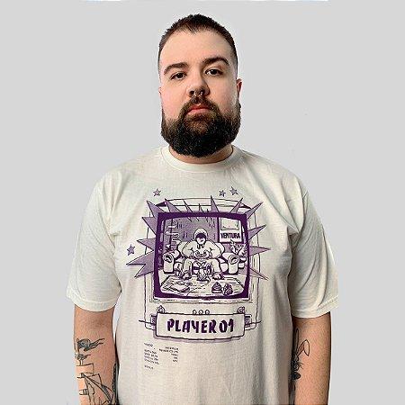 Camiseta Ventura Single Player Off White