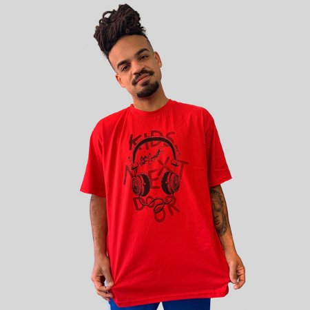 Camiseta Ventura Kids Next Door Vermelho