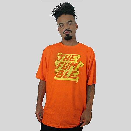 Camiseta The Fumble Sticker Laranja