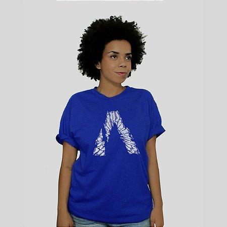 Camiseta Action Clothing Broken Glass Royal