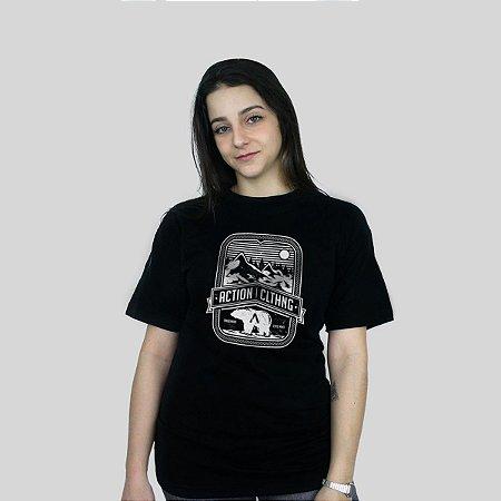 Camiseta Action Clothing Alaska Preta
