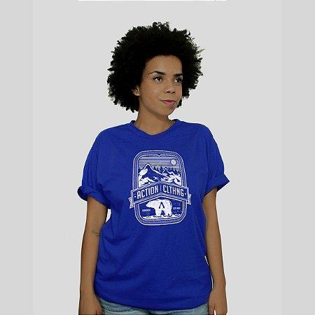 Camiseta Action Clothing Alaska Royal