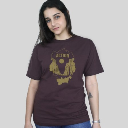 Camiseta Action Clothing El Capitan Marrom
