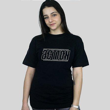 Camiseta Action Clothing Lines Preta