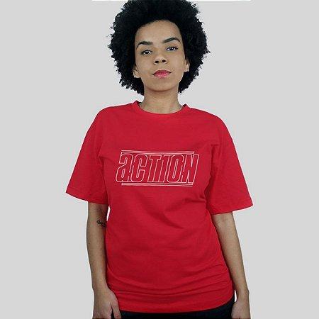 Camiseta Action Clothing Lines Vermelha