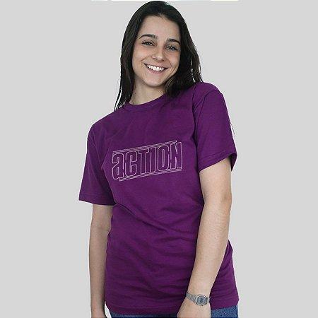 Camiseta Action Clothing Lines Roxa