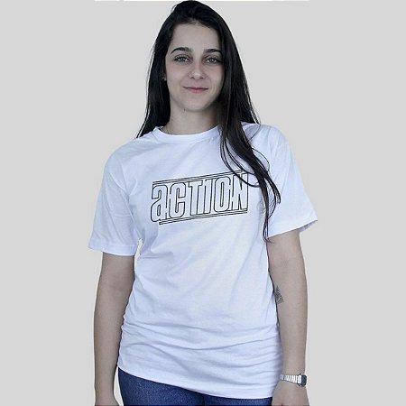 Camiseta Action Clothing Lines Branca