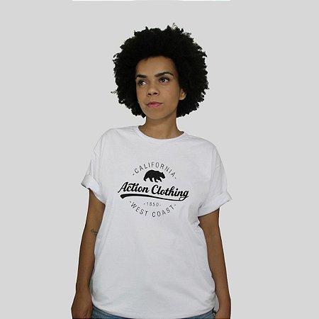 Camiseta Action Clothing Santa Monica Branca