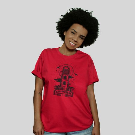 Camiseta Bleed Lighthouse Vermelha