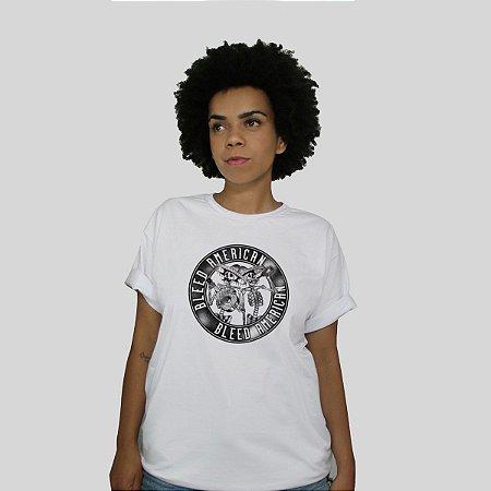 Camiseta Bleed Los Borachos Branca
