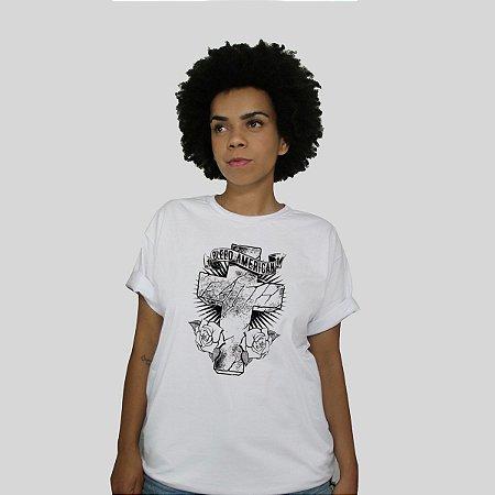 Camiseta Bleed Faith Branca