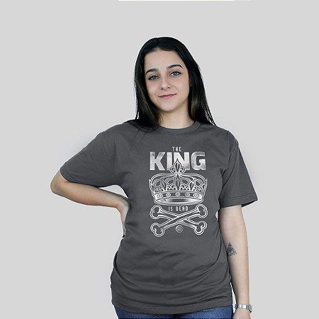 Camiseta Bleed King Is Dead Chumbo