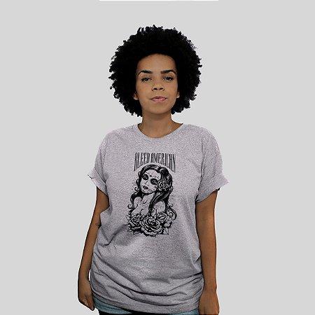 Camiseta Bleed Timeless Cinza Mescla