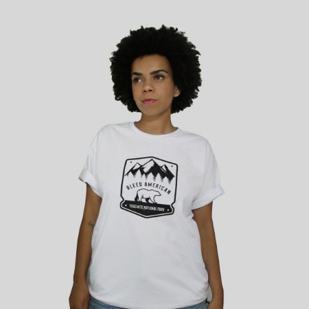 Camiseta Bleed Yosemite Branca