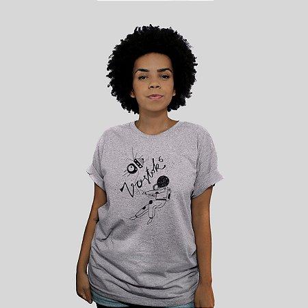 Camiseta Bleed Vostok Cinza Mescla