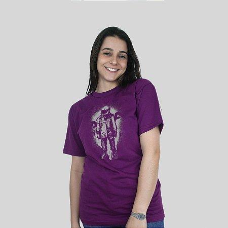 Camiseta 182Life The Astronaut Roxa