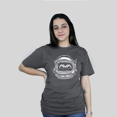Camiseta 182Life Space Head Chumbo