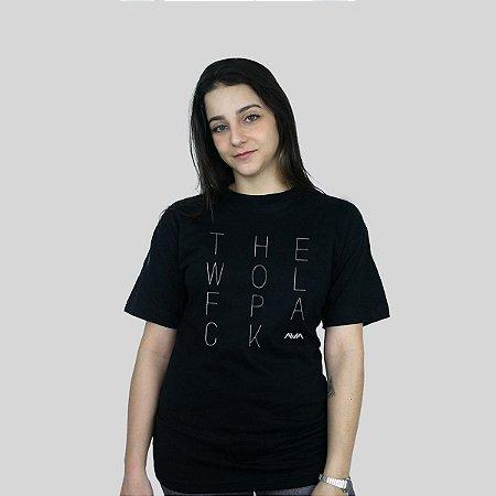 Camiseta 182Life The Wolfpack Preta