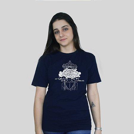 Camiseta 182Life Carousel Marinho