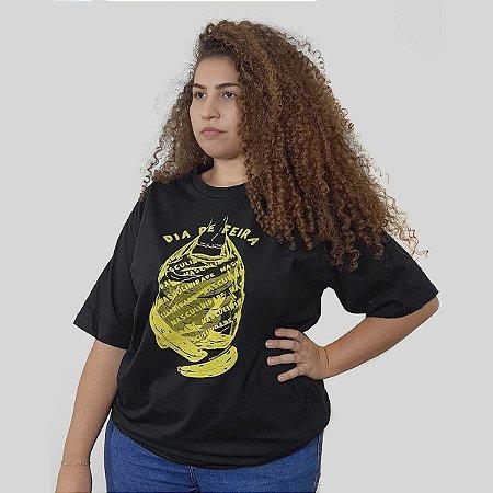 Camiseta Quimera Frágil Preta