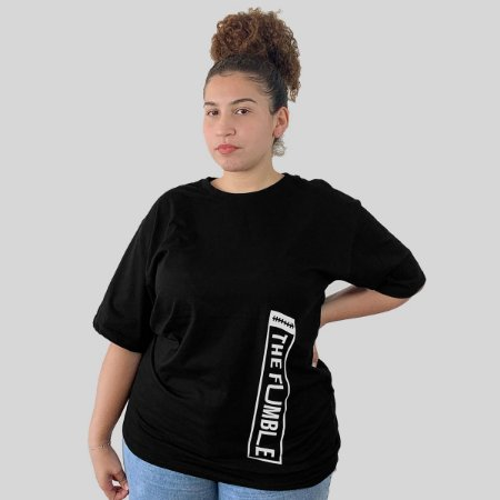 Camiseta The Fumble Vertical Preto