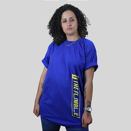 Camiseta The Fumble Vertical Royal