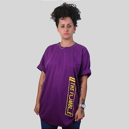 Camiseta The Fumble Vertical Roxa
