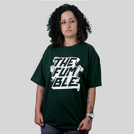 Camiseta The Fumble Sticker Musgo