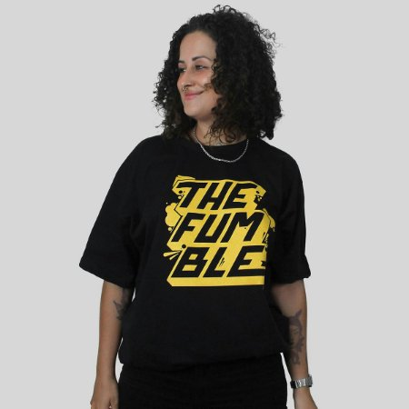 Camiseta The Fumble Sticker Preto