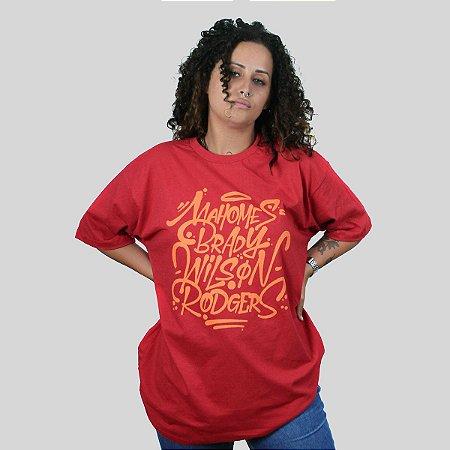 Camiseta The Fumble Favorites Vermelho