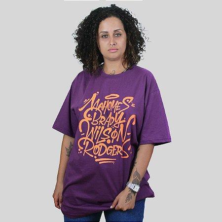 Camiseta The Fumble Favorites Roxo