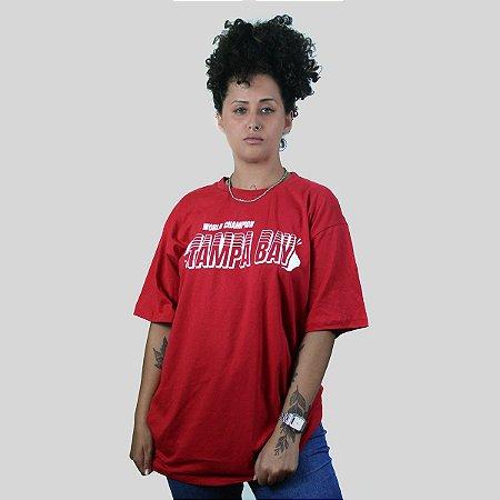 Camiseta The Fumble Champs Tampa Bay Vermelho