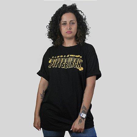 Camiseta The Fumble Champs Pittsburgh Preto
