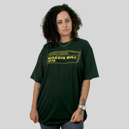 Camiseta The Fumble Division Green Bay Musgo