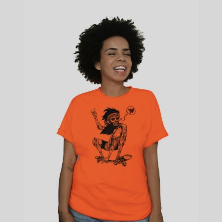 Camiseta Ventura Jamon Laranja