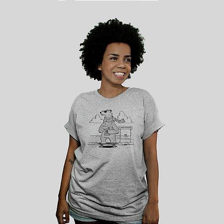 Camiseta Ventura Polarbears Cinza Mescla