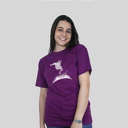 Camiseta Ventura Cosmonauta Roxa
